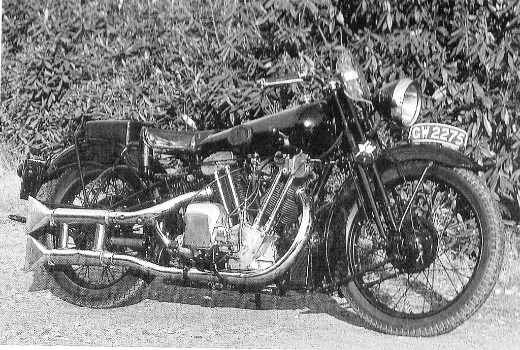 Uncle Fred's Brough Superior SS100 he claims belonged to Lawrence of Arabia