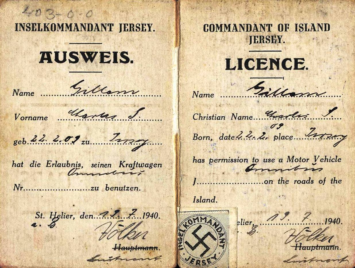 German issued driving licence